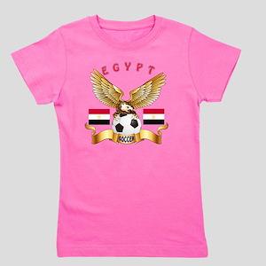 Egypt Football Designs Girl's Tee
