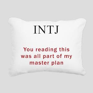 INTJ Plan Rectangular Canvas Pillow