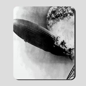 Hindenburg Burning Mousepad