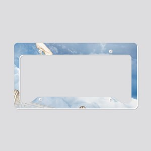goh_Rectangular Canvas Pillow License Plate Holder