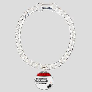 Menopause Humor Charm Bracelet, One Charm