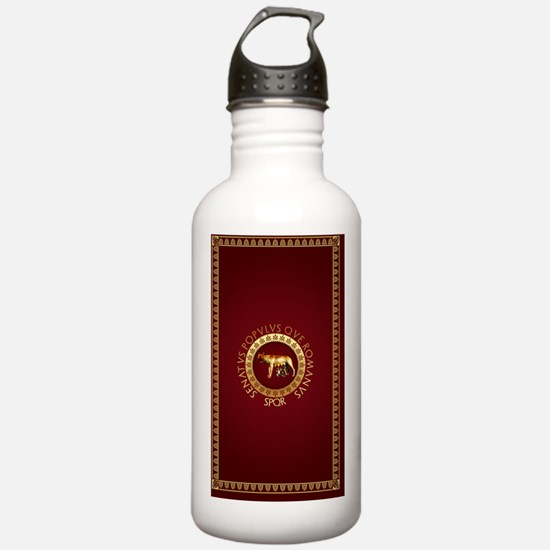Roman rug Water Bottle