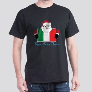 Santa In America Dark T-Shirt