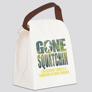 Gone Squatchin *Special Deep Fore Canvas Lunch Bag