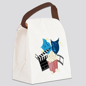 Movie Lover Canvas Lunch Bag
