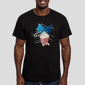 Movie Lover Men's Fitted T-Shirt (dark)