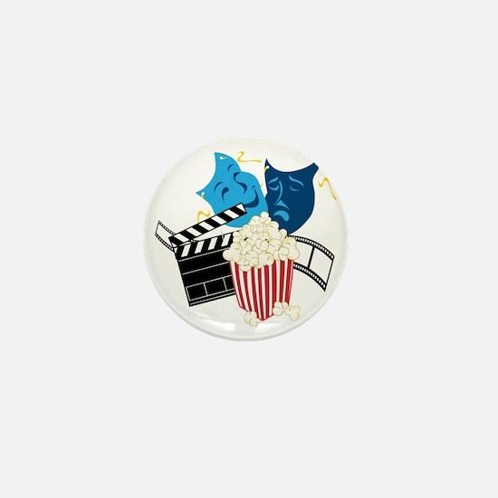 Movie Lover Mini Button