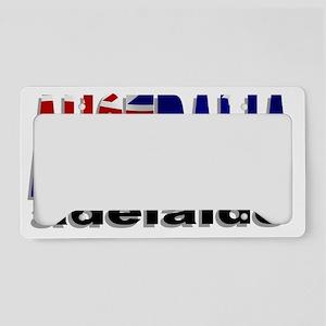 Australia Adelaide License Plate Holder
