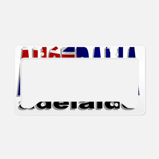 Australia Adelaide License Plate Holder