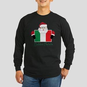 Buone Feste Natalizie Long Sleeve Dark T-Shirt