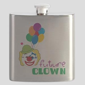 Future Clown Flask