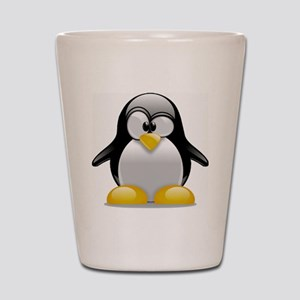 Tux the Penguin Shot Glass