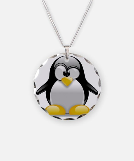 Tux the Penguin Necklace