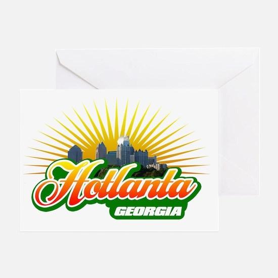 Hotlanta Georgia Greeting Card