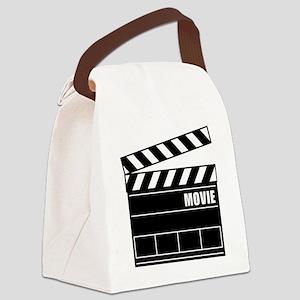 Clapper Board Canvas Lunch Bag
