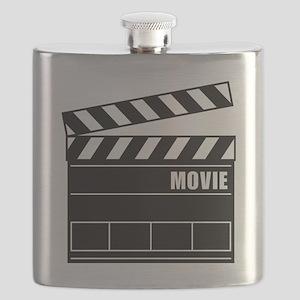Clapper Board Flask