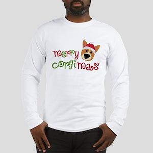 Merry Corgimas Long Sleeve T-Shirt