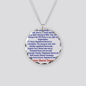 ALL WERE LIBERAL DEMOCRATS.. Necklace Circle Charm