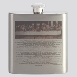 Matthew-26:17-30 The Last Supper Flask