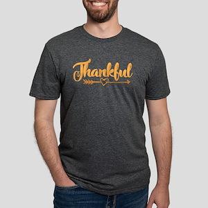 Thankful Mens Tri-blend T-Shirt