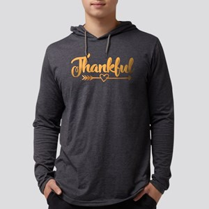 Thankful Mens Hooded Shirt