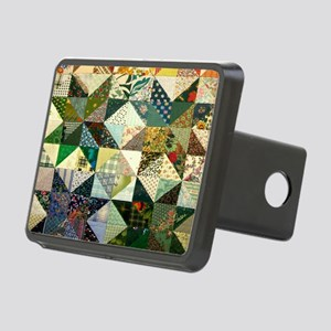 Fun Patchwork Quilt Rectangular Hitch Cover