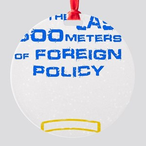 Foreign Policy Round Ornament
