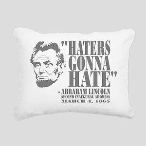 Lincoln Rectangular Canvas Pillow