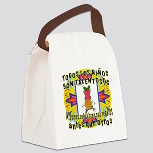 Gifted Kids SPANISH Canvas Lunch Bag
