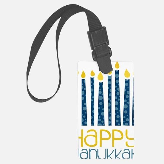 Happy Hanukkah Luggage Tag
