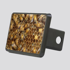 Honey Bees Rectangular Hitch Cover