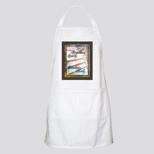 Sometimes Quickly, Sometimes Slowly Apron