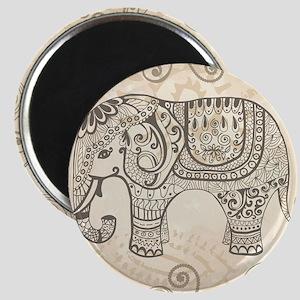 Vintage Elephant Magnet