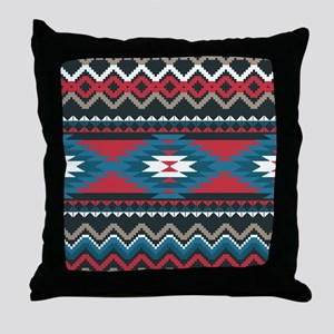 Native Pattern Throw Pillow