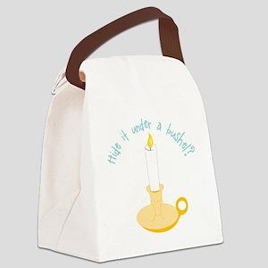 Hide It Canvas Lunch Bag