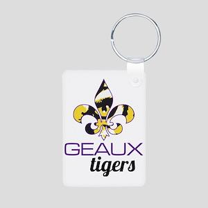 Louisiana Tigers Aluminum Photo Keychain
