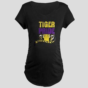 Geaux Tigers Maternity Dark T-Shirt