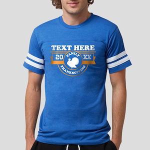 Family Thanksgiving Personaliz Mens Football Shirt