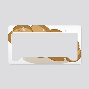 Challah License Plate Holder