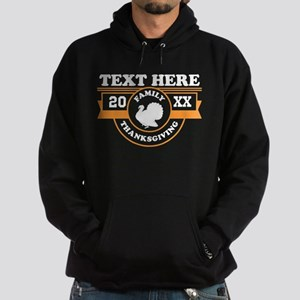 Family Thanksgiving Personalized Hoodie (dark)