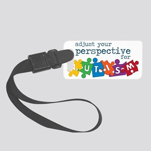 Autism Puzzle Small Luggage Tag