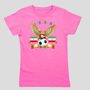 Iran Football Designs Girl's Tee