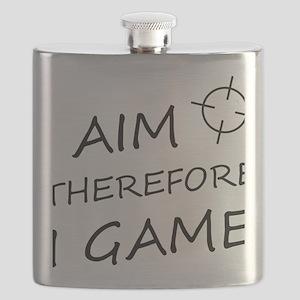 I aim, therefore, I game! Flask