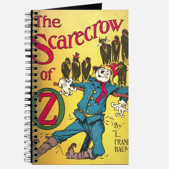 The Scarecrow of Oz Book Cover Journal