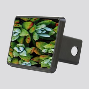 succulents Rectangular Hitch Cover