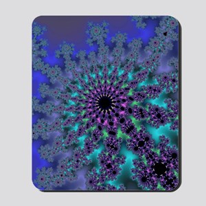 Peacock Fractal Mousepad