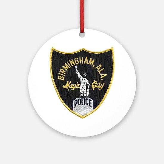Birmingham Police patch Round Ornament
