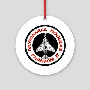 F-4 Phantom II Ornament (Round)