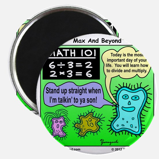 Amoeba Math Cartoon Magnet