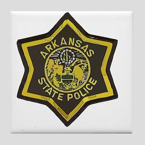 Arkansas SP patch Tile Coaster